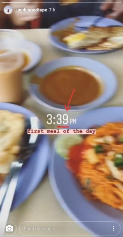 My friend's instastory had her timestamp taken at 3:39pm! Such coincidence!