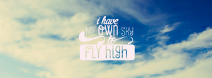 I Have My Own Sky To Fly High