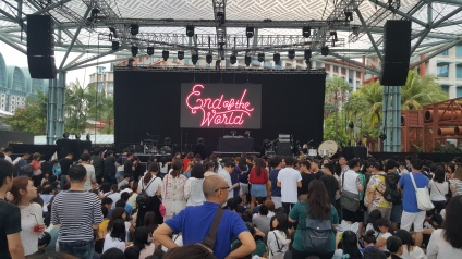 "Sekai No Owari ""End Of The World"" concert in Singapore"
