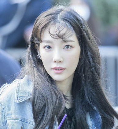 Taenggu's mermaid hairstyle
