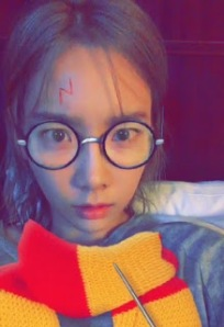 Taeyeon the Harry Potter fan
