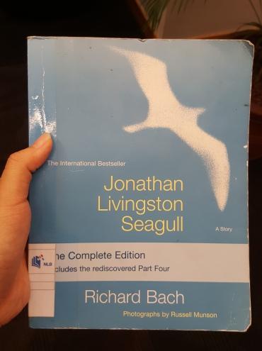 """Jonathan Livingston Seagull"" by Richard Bach"